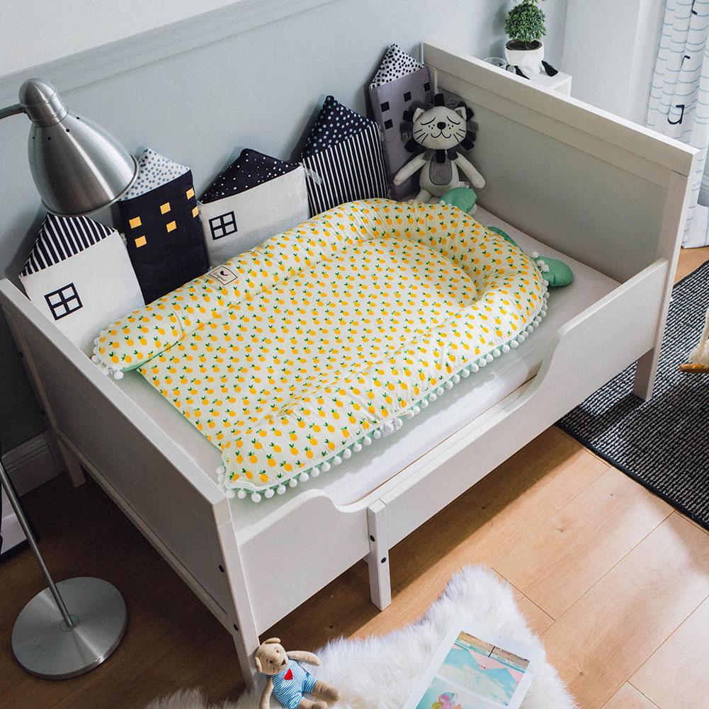 Baby Kind Travel Bassinet Für Bett Tragbare Reise Infant Bett & Wiegen Liege Kissen Mit Baumwolle Abdeckung Baby Matratze SorgfäLtig AusgewäHlte Materialien Baby Bettwäsche