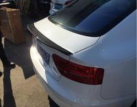 ABS краски и углеродного волокна заднего крыла багажник спойлер для AUDI A5 S5 Audi A5 S5 купе 2 двери/4 двери 2009 2017 (3 вида стилей)