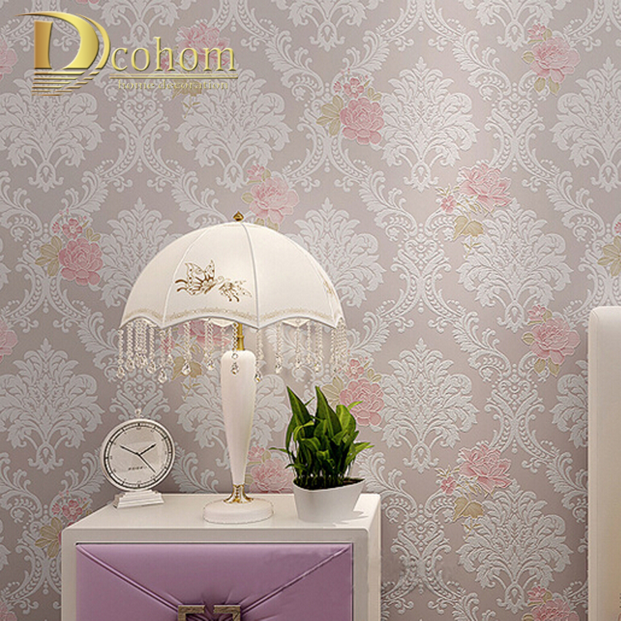 High quality Modern Luxury 3d wallpaper roll for wall flower papel de parede tapete for bedroom living room wallcovering R446 dior dior homme туалетная вода спрей 100 мл
