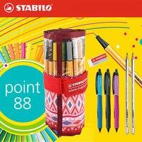 STABILO Swan 88 Fiber Pen Stabilo 0 4mm Fine Sketch Pen Fineliner Pen Colored Gel
