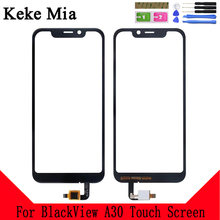 Keke Mia 5.5 Mobile Touch Screen For BlackView A30 Glass Front Digitizer Lens Sensor Free Adhesive+Wipes