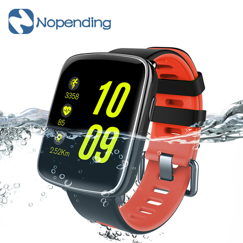 NEW Makibes GV68 Smart Watch IP68 Waterproof Sports Smartwatch Heart Rate Monitor MTK2502 Message Call Reminder for IOS Xiaomi z4 smartwatch android ios compatible ip67 waterproof heart rate monitor smart watch sedentary reminder pedometer remote camera