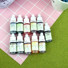 Dyeing Pigment Slime Crystal Mud UV Resin Dyeing Water Oil Dual Use Pigment DIY Craft Dropshipping