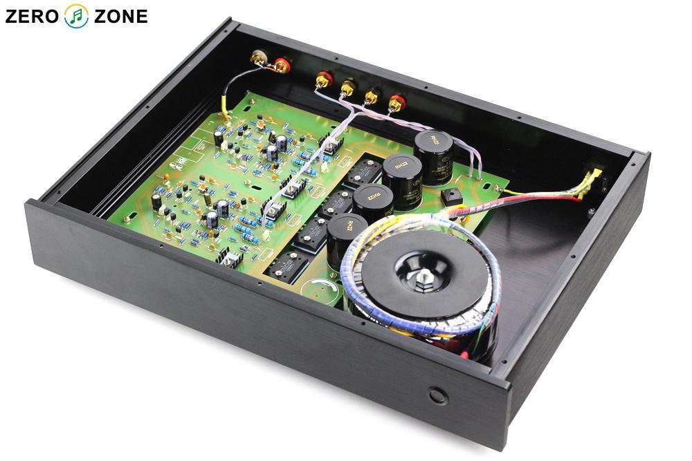 300W version NAP200 Power amplifier base on UK NAIM Black Box Power amp 75W+75W wholesale new 2pcs nap 140 classic naim clone audio power amplifier 100w 100w 4ohm 40v diy kit