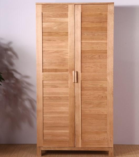 Stile giapponese mobili in rovere armadio in legno armadio guardaroba armadio due doppie porte - Porte scorrevoli stile giapponese ...