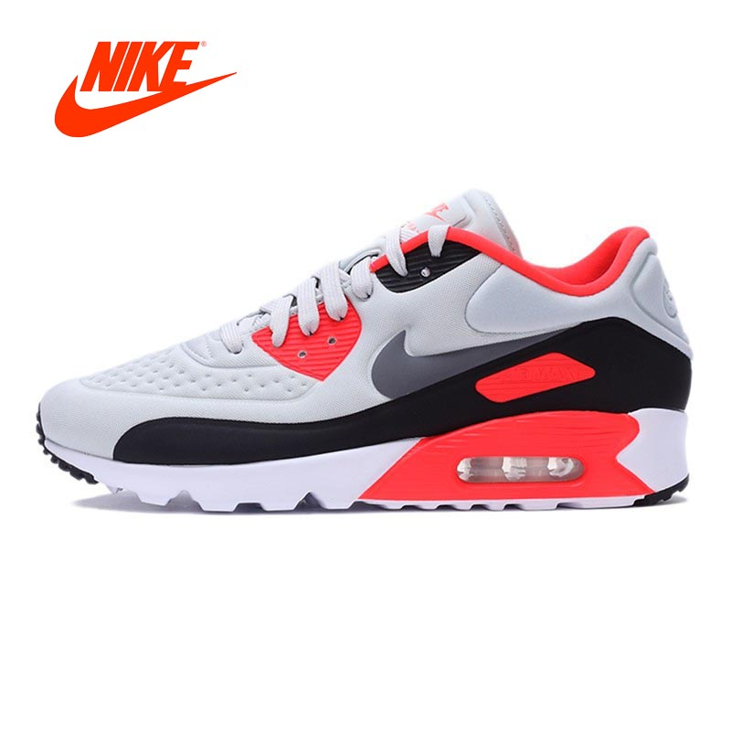 NIKE AIR Breathable MAX 90 ULTRA SE Original New Arrival Authentic Men's Running Shoes Sneakers Sport Outdoor Good Quality original new arrival authentic nike air max 90 ultra 2 0 flyknit men s running shoes breathable lightweight non slip outdoor