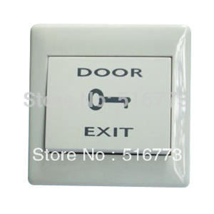 Zugangskontrolle Access Control Zubehör VertrauenswüRdig Kunststoff Push Button Für Zutrittskontrolle Mit Drei Kontakte No/nc/com Gb-b10 Elegante Form