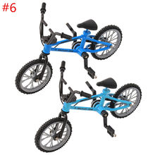 2018 New Style Finger Alloy Bicycle Model Mini MTB BMX Fixie Bike Boys Toy Creative Game Gift Funny(China)