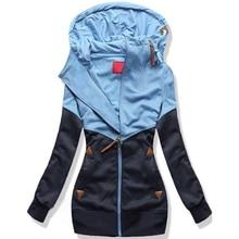 Gogoyouth Spring Women Jacket 2018 Autumn Winter Oversized Hooded Sweatshirt Zipper Hoodies Plus Size Coat Female Sweat Femme