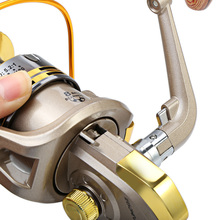2016 New Arrival Hot 8 BB fish ratio 5.1:1 1000-7000 Series Spinning Fishing Reel crank handle Freshwater Saltwater