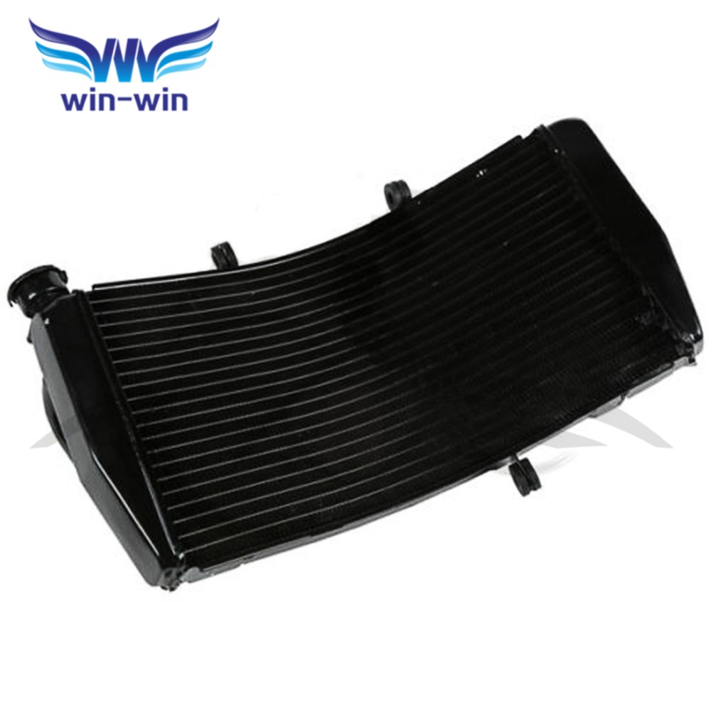 Motorcycle Cooler  Aluminium Replacement Radiator Grille Guard for Honda CBR954 CBR 954 2002 2003 arashi motorcycle radiator grille protective cover grill guard protector for 2008 2009 2010 2011 honda cbr1000rr cbr 1000 rr