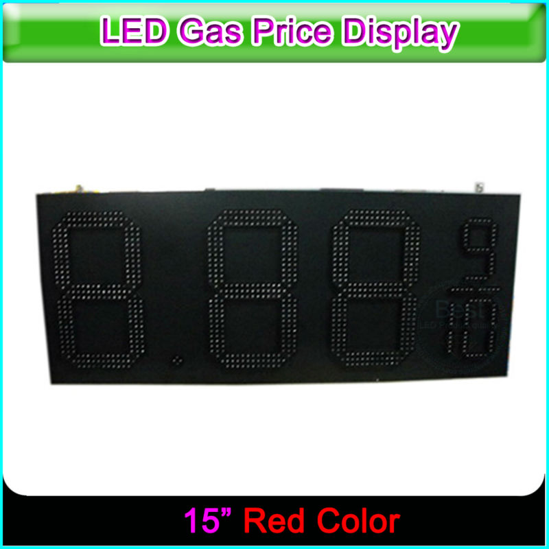 15 Inch 8.889/10 Gas Station LED Price Sign LED Gas Price Signs Digital Gas Station LED Price Display15 Inch 8.889/10 Gas Station LED Price Sign LED Gas Price Signs Digital Gas Station LED Price Display