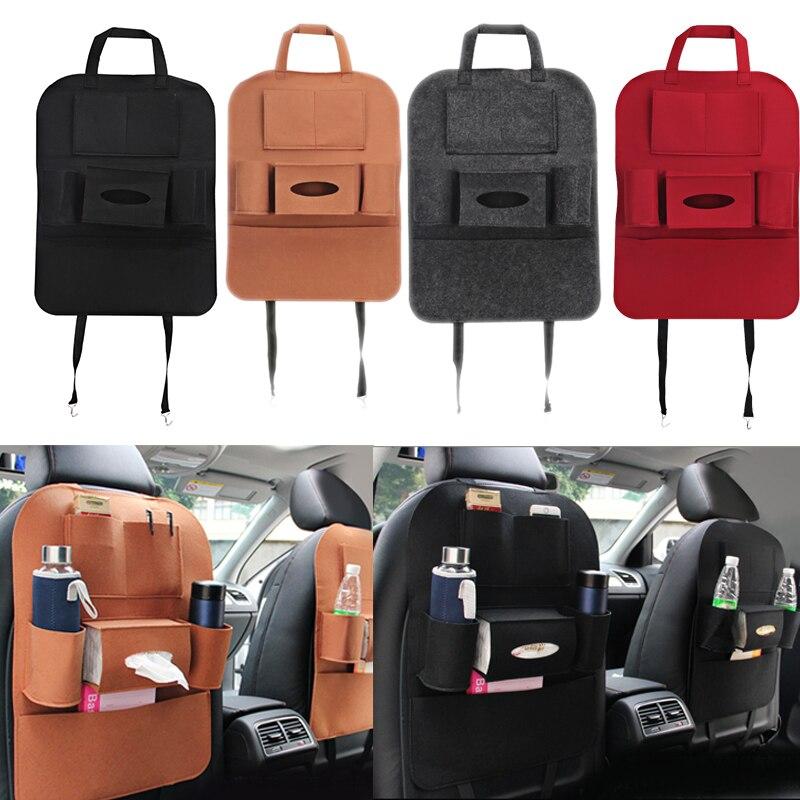 Авто сиденье сумка Организатор Multi карман сумка для хранения автокресло Чехол Back Box Организатор для телефонной книги стайлинга автомобилей ...
