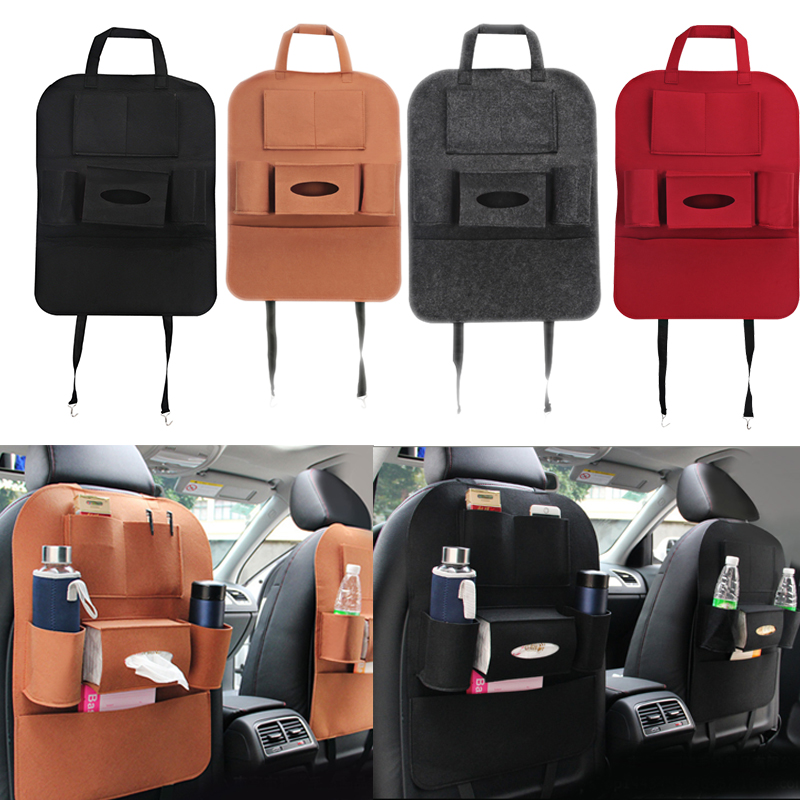 Auto Auto Sitz Tasche Organizer Multi Tasche Aufbewahrungstasche Autositz Sitzbezug Zurück Box Organizer Halter Für Telefon Buch Auto Styling