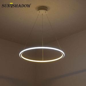 Image 5 - Led Chandelier Lamp For Living room Dining room Kitchen Light Fixtures Modern LED Ceiling Chandelier Lighting Lamparas de techo