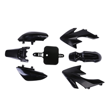 Car-styling Plastic Black Fairing Cover Body for Honda CRF XR 50 CRF 125cc SSR PRO Pit Dirt Bike New Exterior Accessories New