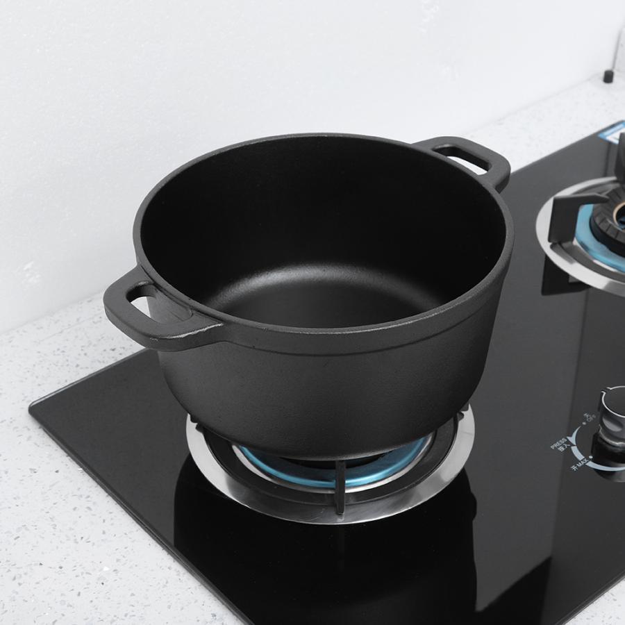 Portable Non-Stick Cast Iron Pot 1
