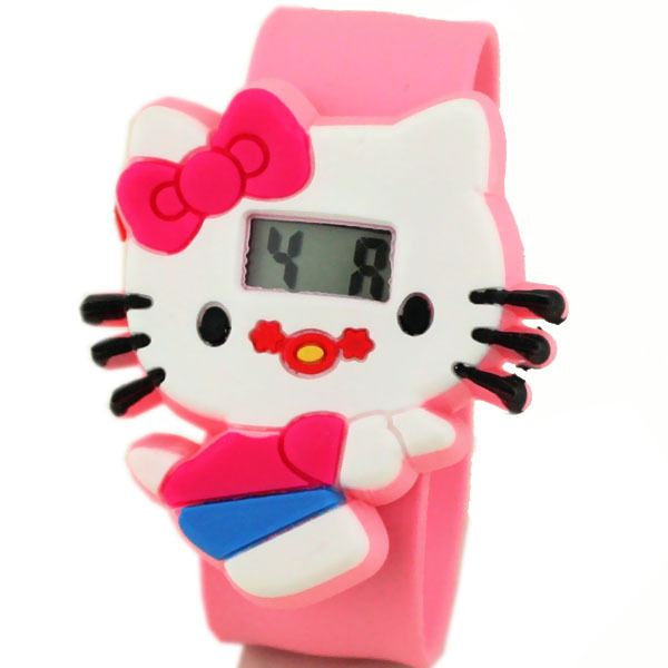 Hello Kitty cartoon cute children's electronic watches manufacturers wholesale s