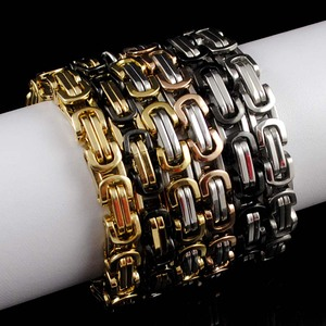 Men Bracelets Jewelry Rock Pun