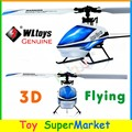 WLtoys V977 RC Dublê de Controle Remoto Helicóptero 6CH Invertido 3D 6-Axis Gyro Brushless Single-lâmina RTF 2.4 GHz Rádio Star Power X1