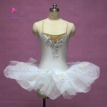 Белый балет сценическое костюм, Ballerila танец пачка, Леди танец костюм