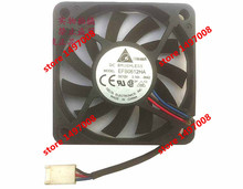 Free Shipping For DELTA  EFB0612HA, -5N62 DC 12V 0.18A,  3-wire 3-pin 80mm 60x60x10mm Server Square cooling fan