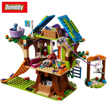 Lepin 01059 Girl Friends Series Mia's Tree House Model Building Block Brick Toys Kids Gifts 393Pcs Compatible 41335