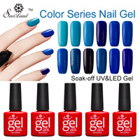 Vrenmol 12pcs Red Gray Purple Blue Brown Series Colors Soak Off UV Gel Nail Varnish Gradient