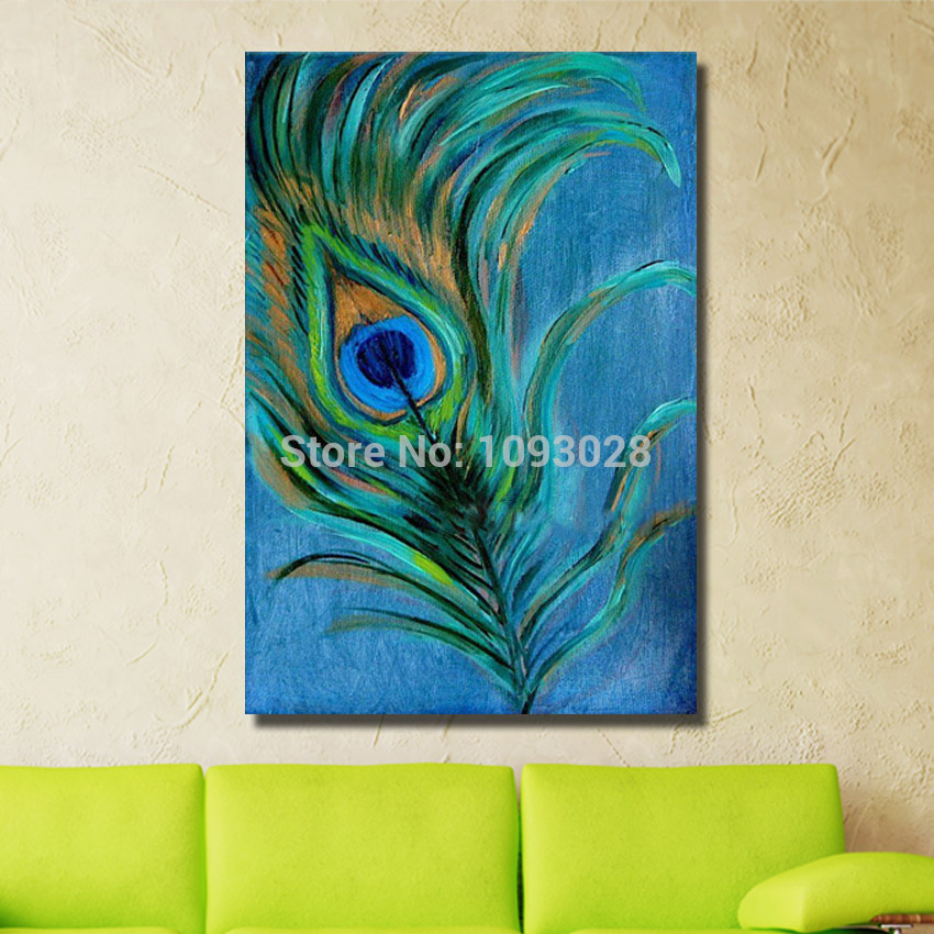 Buy handmade oil paintings abstract for Painting feathers on canvas