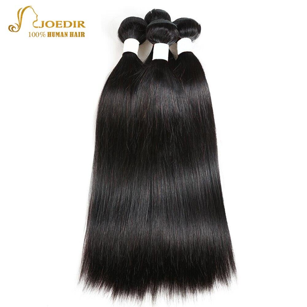 Joedir haj előszínes emberi hajcsomagok bezárása Brazilian Hair - Emberi haj (fekete) - Fénykép 2