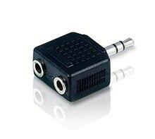Y двойные splitter шнур стерео наушники разъем универсальный адаптер кабель телефон