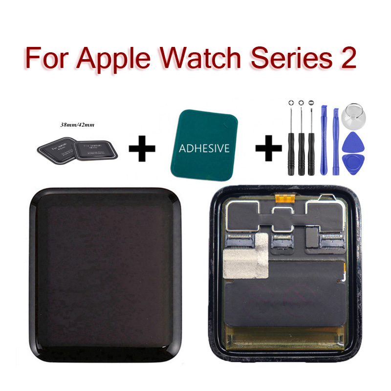 For Apple Watch Series 2 S2 A1757 A175LCD Replacement Screen 38mm 42mm Pantalla Sport Sapphire LCD