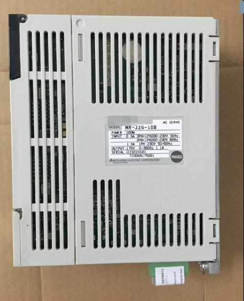 Servo drive   MR-J2-10B ,  Used  one , 90 % appearance new , 3 months warranty , fastly shippingServo drive   MR-J2-10B ,  Used  one , 90 % appearance new , 3 months warranty , fastly shipping