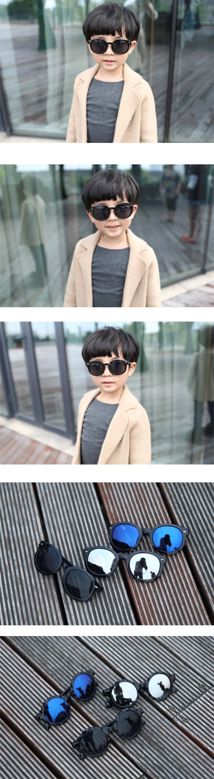 5d1b191f4a7 student Sunglasses South Korean boy reflective Sunglasses female 2 ...