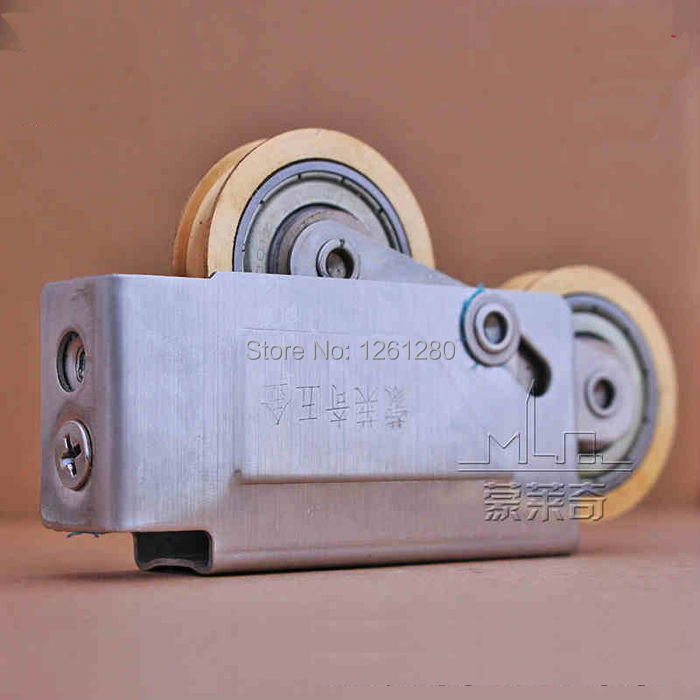 free shipping window roller 73-type aluminum windows and doors pulley sliding door roller sliding sash double copper wheel free shipping window roller 73 type aluminum windows and doors pulley sliding door roller sliding sash double copper wheel