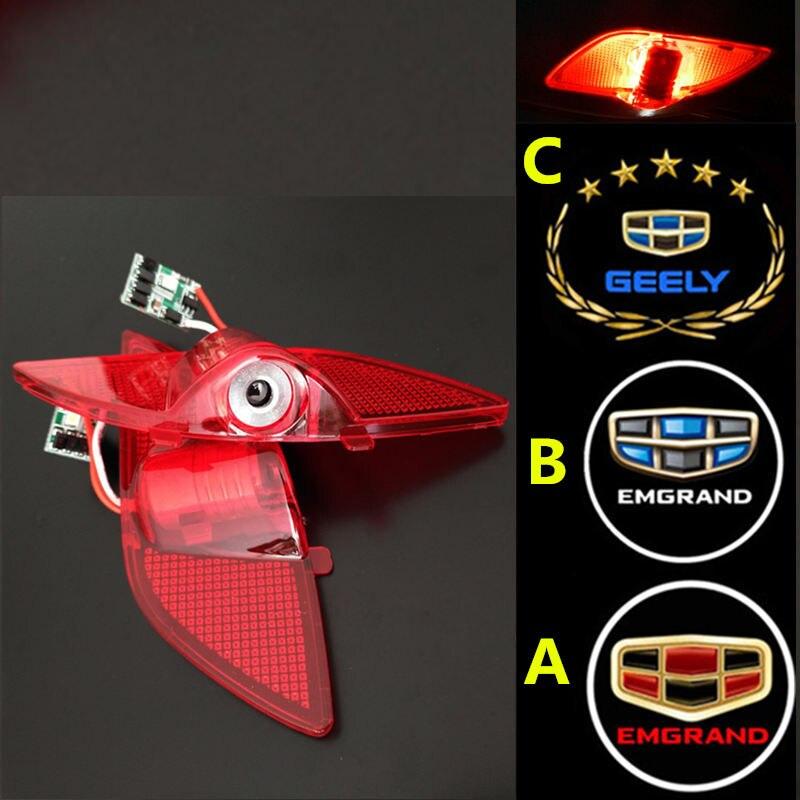 Geely Emgrand 7 EC7 EC715 EC718 Emgrand7 E7 ,EC7-RV EC715-RV EC718-RV,EV,Car welcome door light Ghost Shadow Light