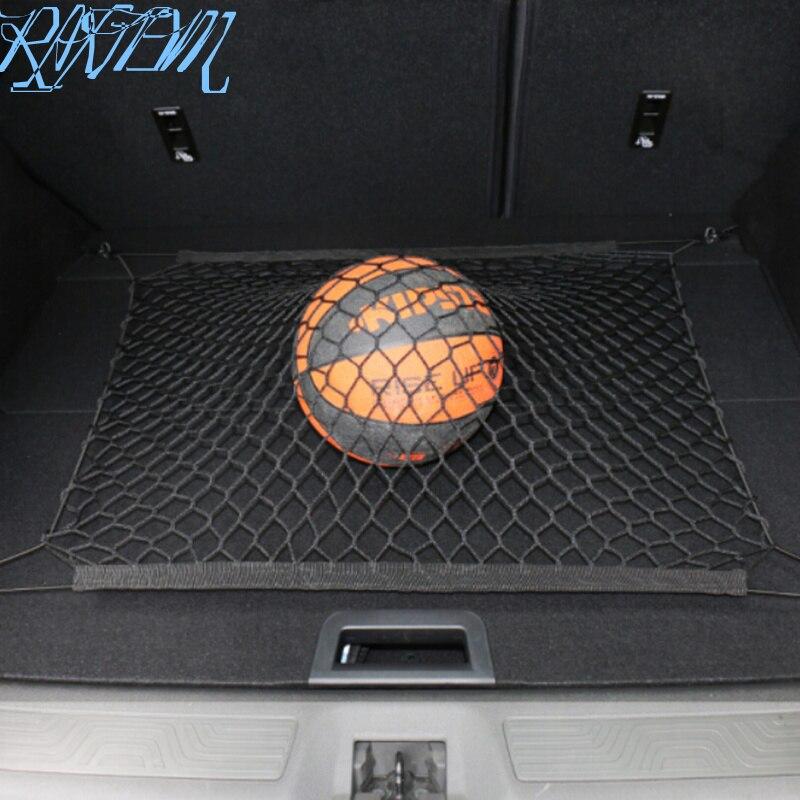 Nylon Car Rear Cargo Net Trunk Storage Organizer Net For Volkswagen VW Golf GTI Tiguan Passat CC Jetta Polo Scirocco Lavida Bora