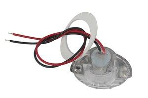Image 3 - 1 قطعة الأبيض مركبة بحرية LED بالكهرباء الممر دوونستير ضوء ل 12 فولت المركبات RV