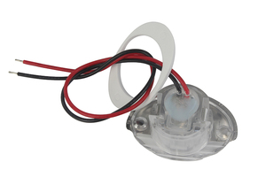 Image 3 - 1Piece White Marine Boat LED Electroplate Corridor Downstair Light for 12V Vehicles RV
