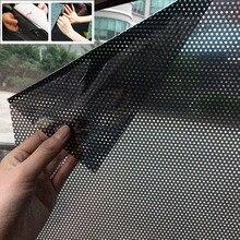 Protetor solar para carro anti uv, 2 peças, isolamento térmico, anti privacidade, para lateral da janela do carro, sombra, filme adesivo 70*49 cm