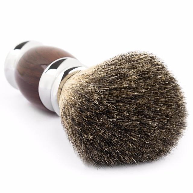 Помазок для бритья Qshave QM3227 с натуральной щетиной