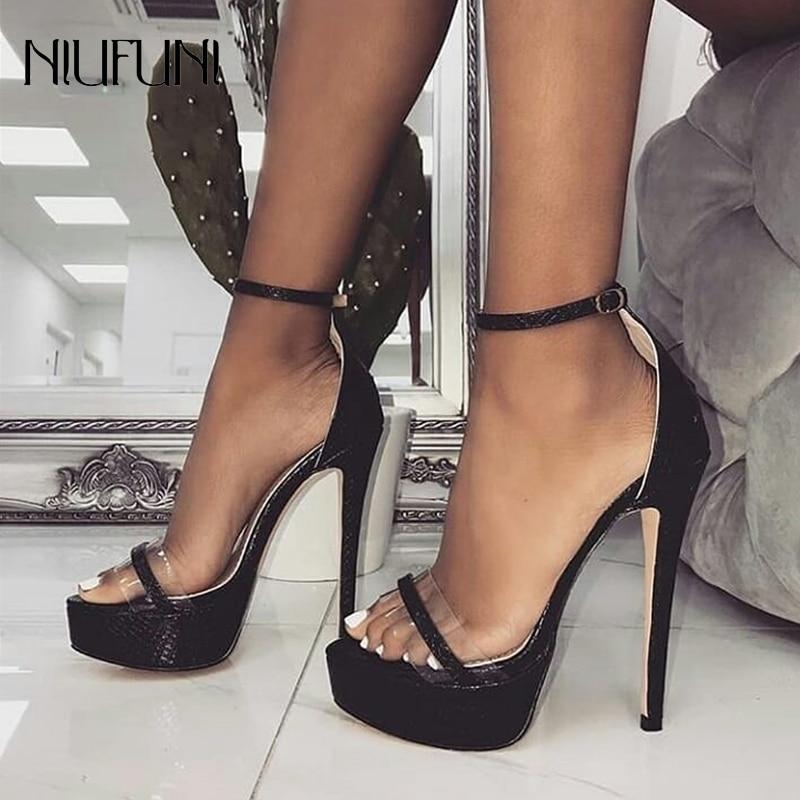 simple black heels