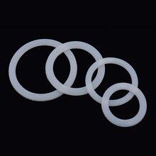 Молочно-белая Гибкая шайба уплотнительное кольцо для Мока горшок Силиконовое уплотнение эспрессо HG4840-HG4843