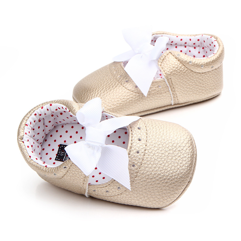 Butterfly Rubber Sole Baby Girl Princess Shoes Soft PU Leather Mary Jane Toddler Infant Prewalker Bebe party Sneakers