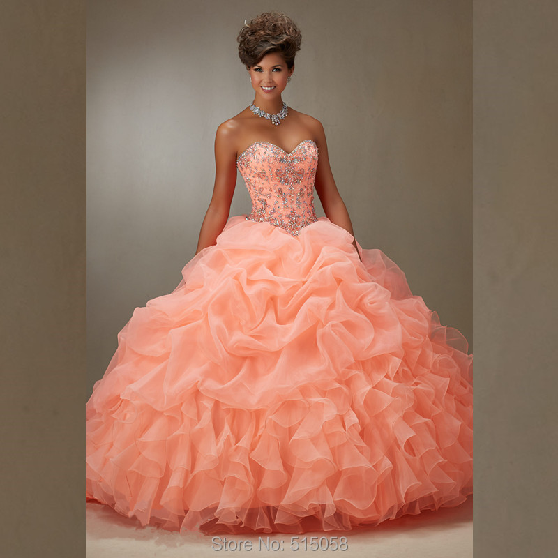 d72f91063e5 Beautiful Beaded Sweetheart Bodice Corset Light Pink Quinceanera Dresses  Ball Gowns Hot Sale Debutante Gowns-in Quinceanera Dresses from Weddings    Events ...