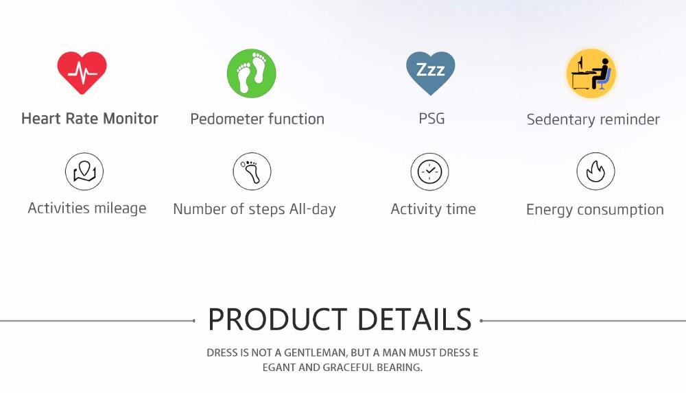 NO.1 G5 Smart Fitness Tracker  (2)