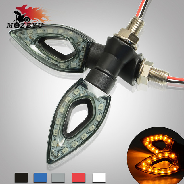 Universal Motorcycle LED Turn Signal Indicators light Amber Light Lamp For KTM 200 250 390 690 990 Duke RC SMC/SMCR Enduro R