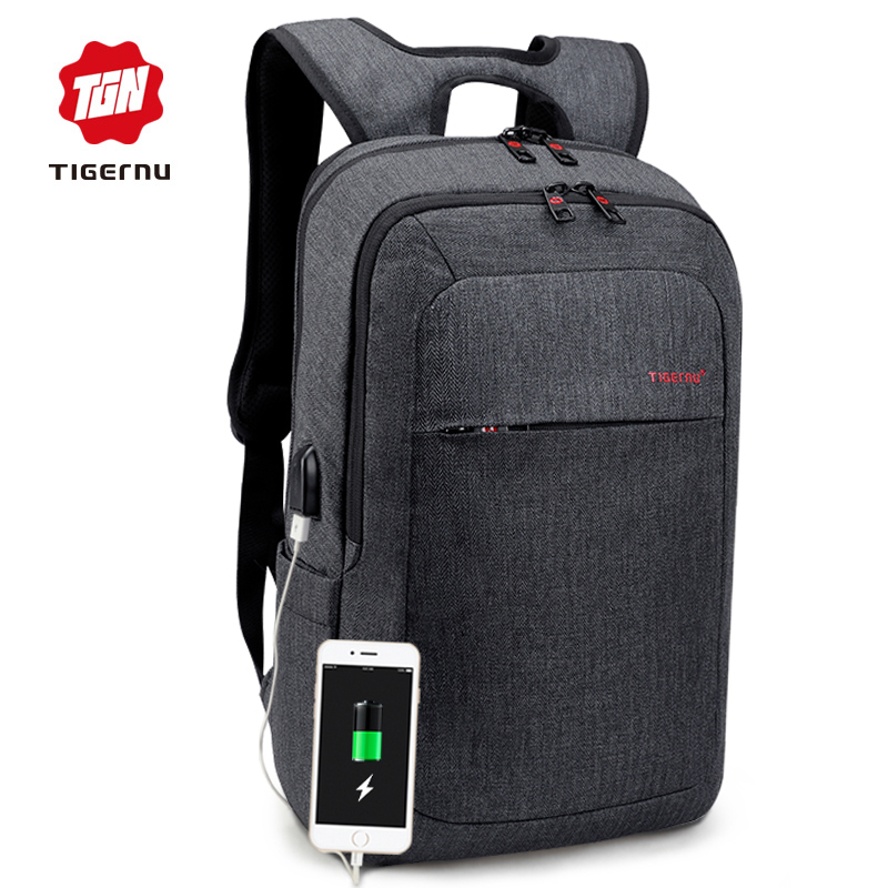 2018 Tigernu Male Backpack Bag Brand 15.6 Inch Laptop Notebook Mochila for Men Waterproof Back Pack bag school backpack women