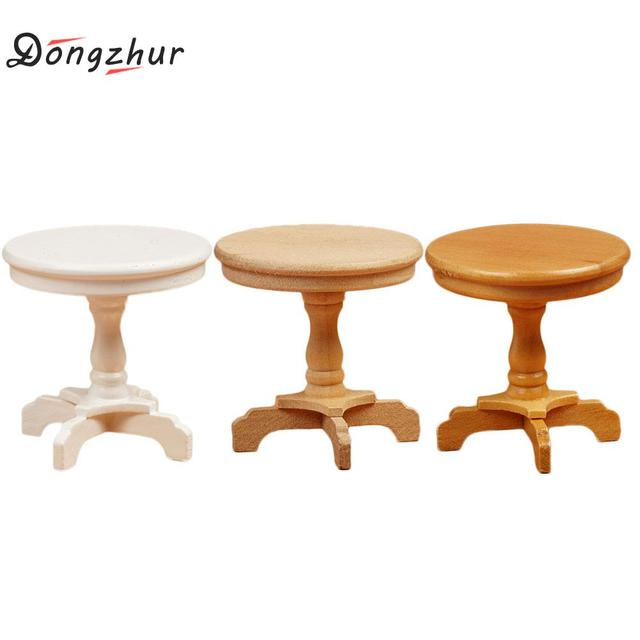 Dongzhur 1 12 Dollhouse Miniaturas Mini Coffee Table Furniture For