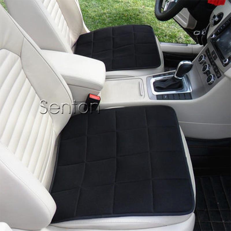 1X Voiture Anti-skid Bambou De Charbon De Bois Coussin Style Pour Mercedes W211 W203 W204 W210 W205 W212 W220 AMG Pour Cadillac CTS SRX ATS